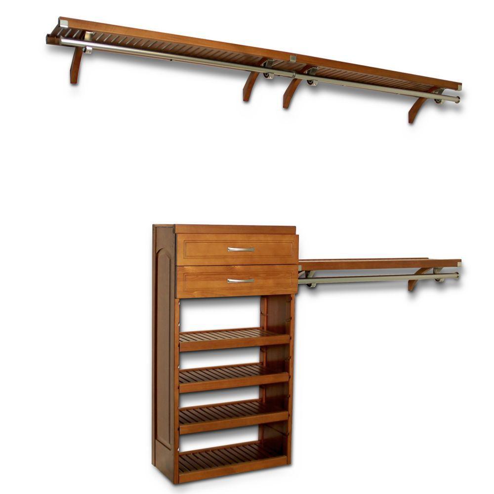 Woodcrest 12 à Deep Closet système Carmel