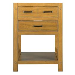 Foremost Avondale 24-Inch  Vanity Cabinet in Weathered Pine