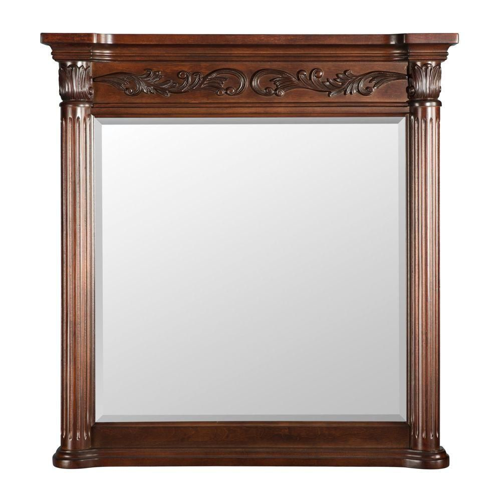 Estates Rich Mahogany 36 inches Mirror