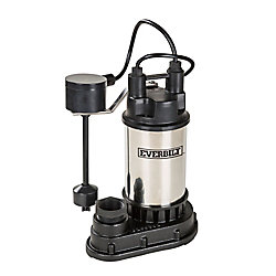 Everbilt Pompe de puisard submersible 1 CH