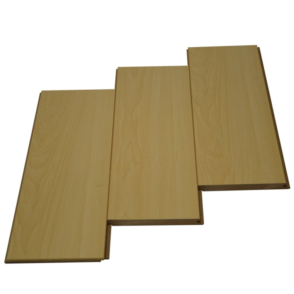 12mm with Underpad Portland Maple Laminate Flooring (23.29 sq. ft. / case)