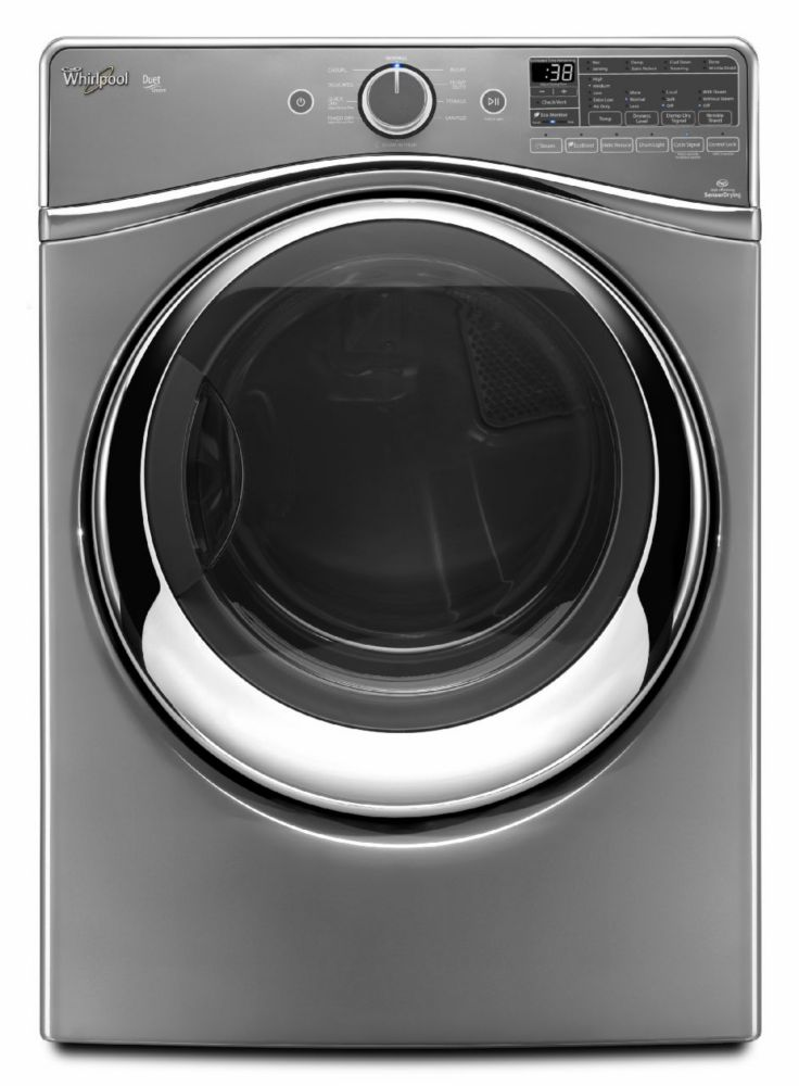 Duet<sup>®</sup> 7.3 cu. ft. Dryer with SilentSteel Dryer Drum in Chrome