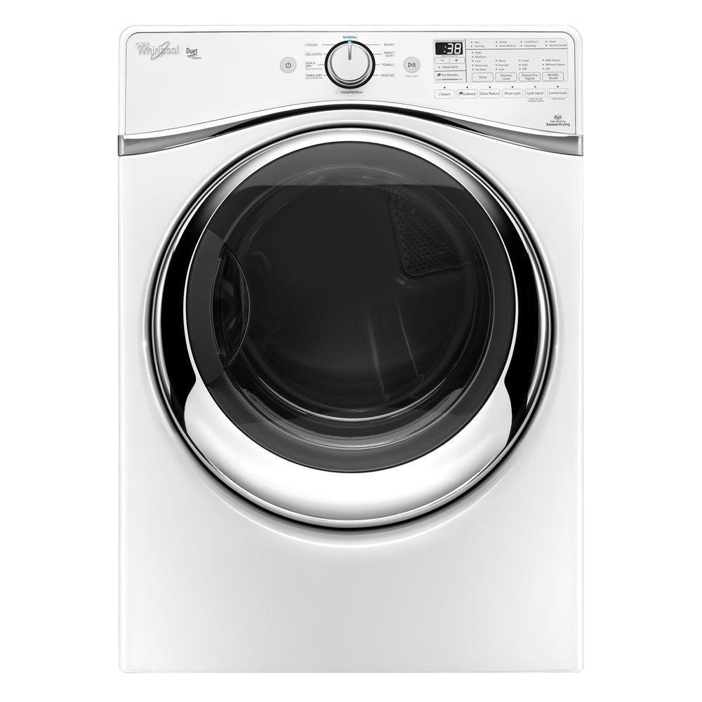 Duet<sup>®</sup> 7.3 cu. ft. Gas Dryer with SilentSteel Drum in White