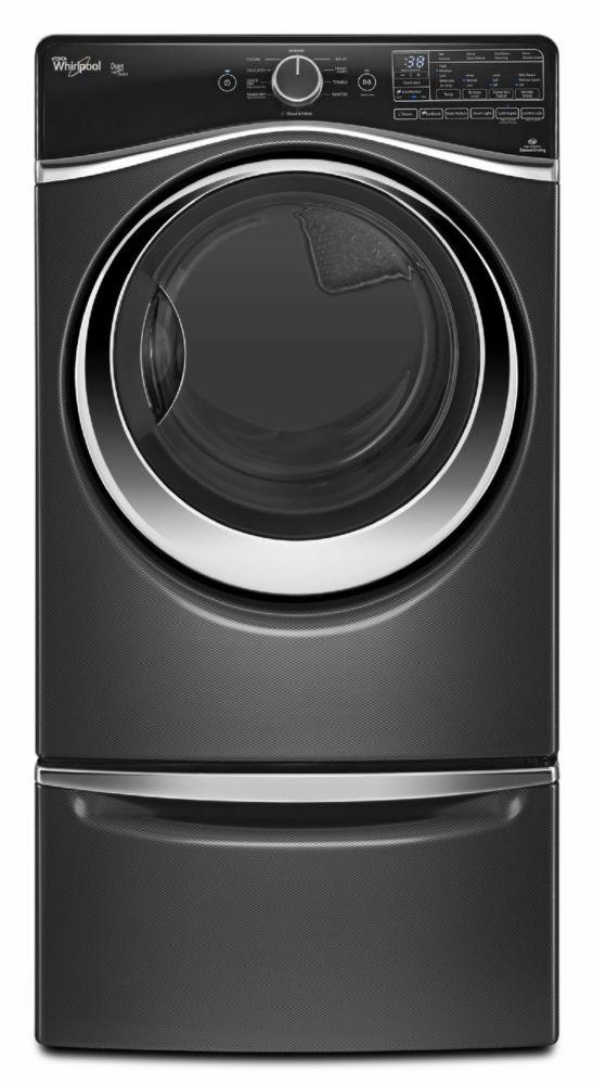 Alpha 15-inch Laundry Pedestal in Black