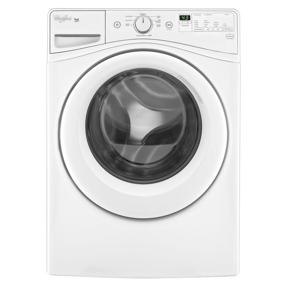 Duet<sup>®</sup> 4.8 cu. ft. HE Front Load Washing Machine with Cold Wash cycle in White