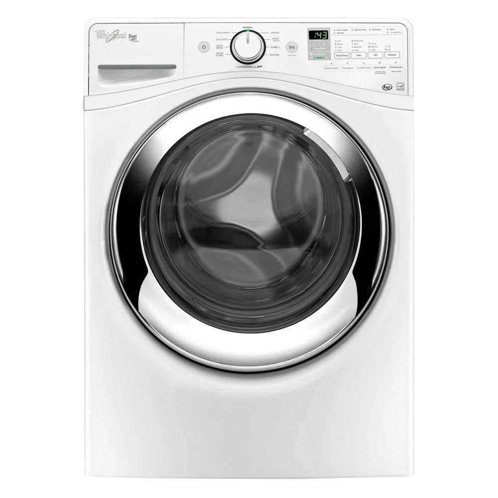 Duet<sup>®</sup> 5.0 cu. ft. Front Load Washing Machine with Steam Clean Option in White