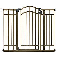 Deco Bronze Extra Tall Walk-Thru Gate