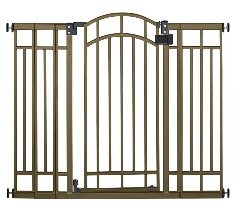 Summer Infant Deco Bronze Extra Tall Walk-Thru Gate