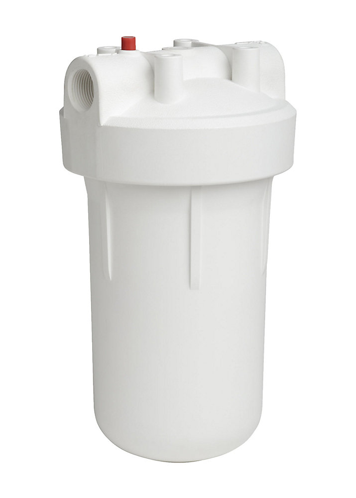 High-Flow Whole Home Filtration System - White