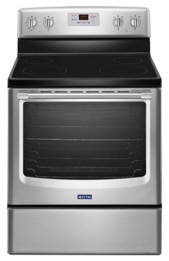 6.2 cu. ft. Electric Free-Standing Range with Stainless Steel Handles in Stainless Steel