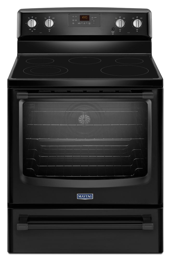 6.2 cu. ft. Electric Free-Standing Range with Convection Oven in Black