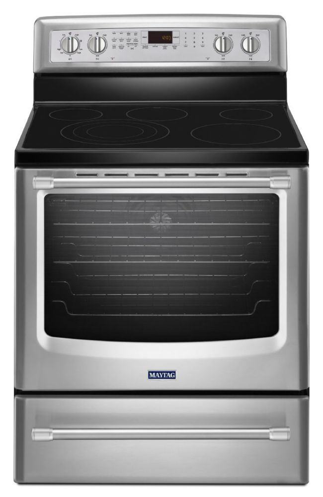 6.2 cu. ft. Electric Free-Standing Oven with Convection Heating in Stainless Steel