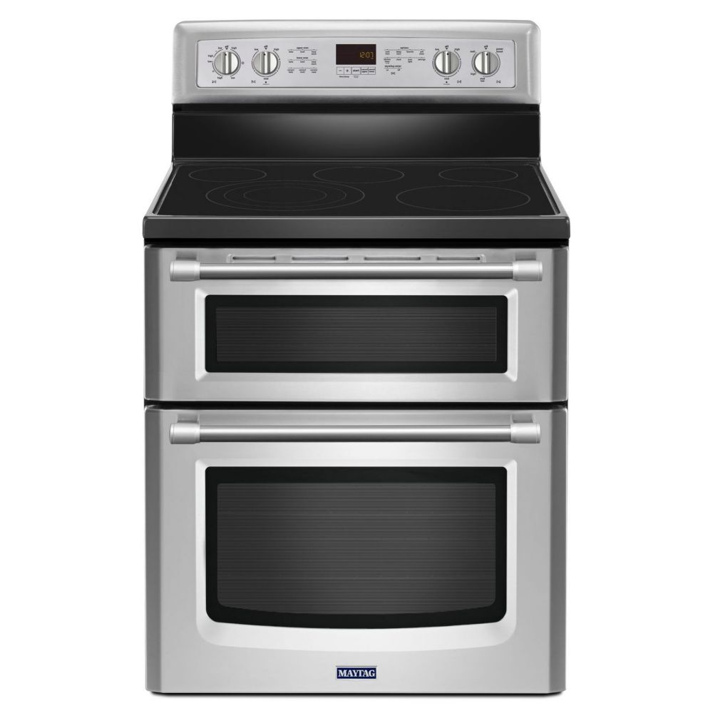 Gemini 6.7 cu. ft. Double Oven Gas Stove with EvenAir� True Convection in Stainless Steel