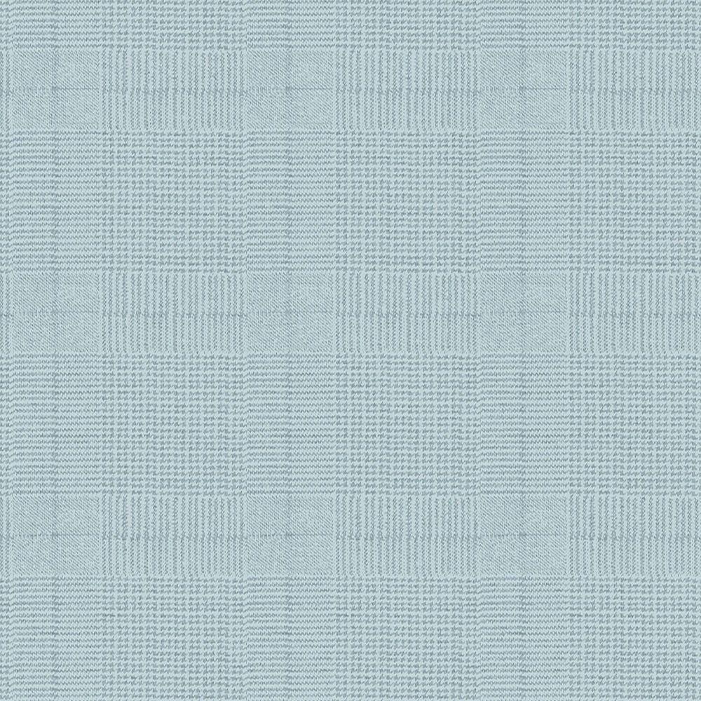 Tweed Aqua Blue Wallpaper