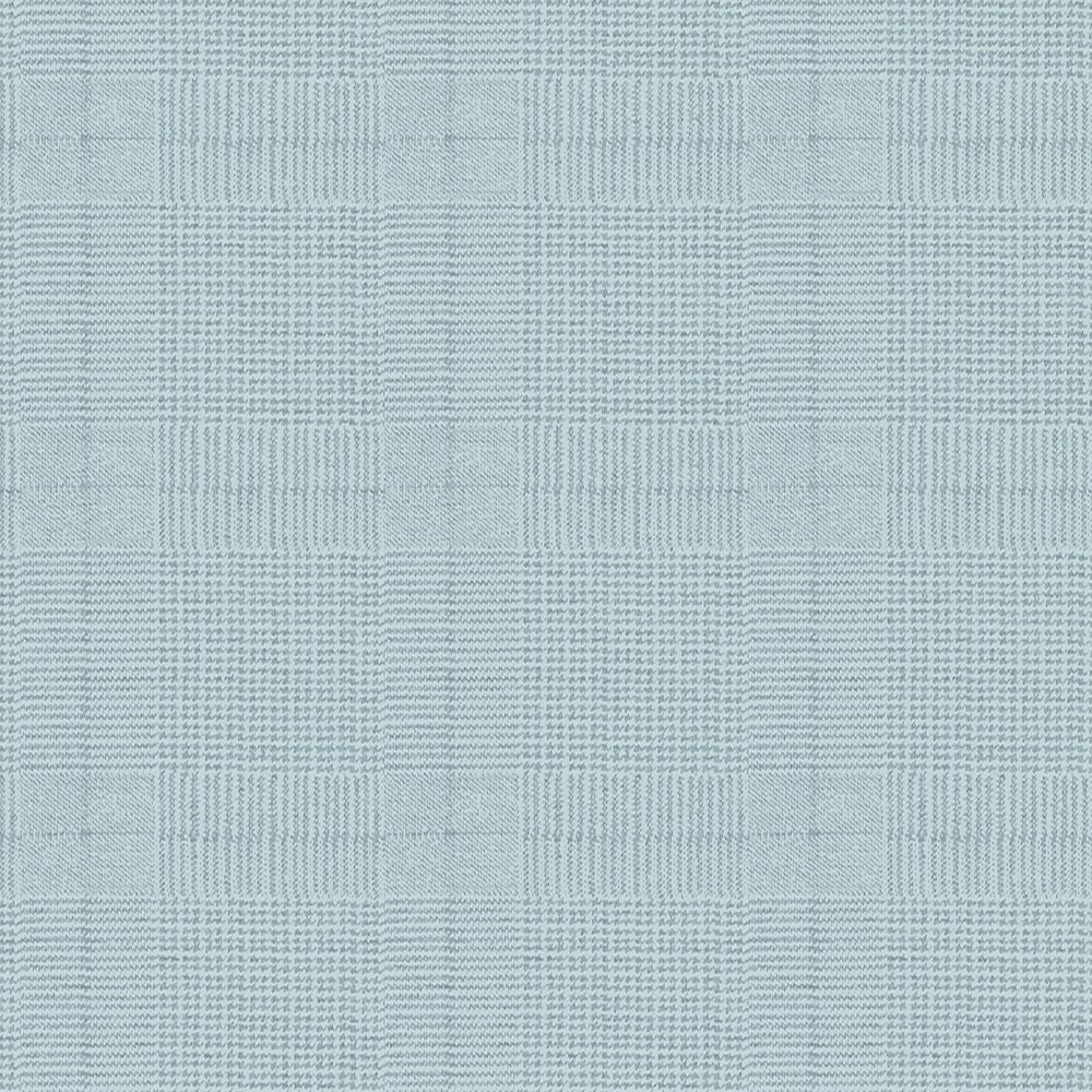 Tweed Papier Peint Bleu