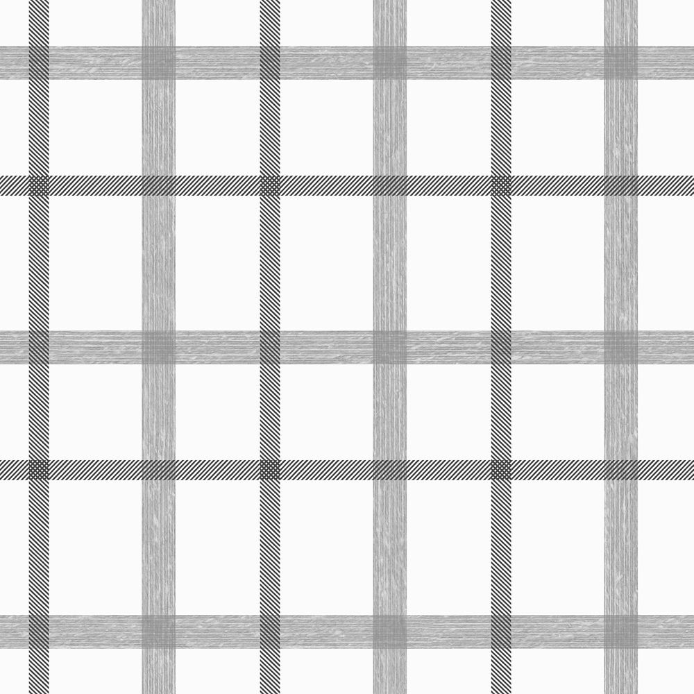 Plaid Gray/Silver Wallpaper