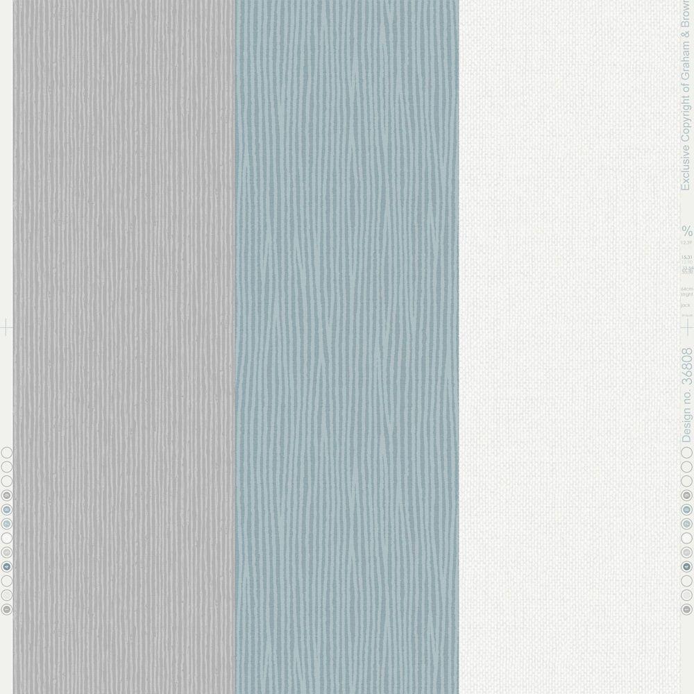 Superfresco java stripe blue wallpaper the home depot canada for Wallpaper home depot canada