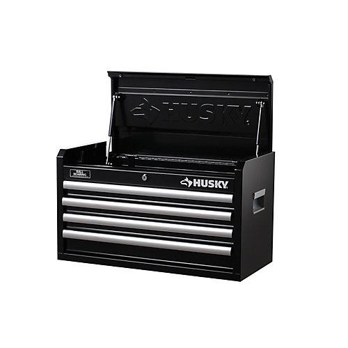 26-inch W 4-Drawer Tool Chest, Black