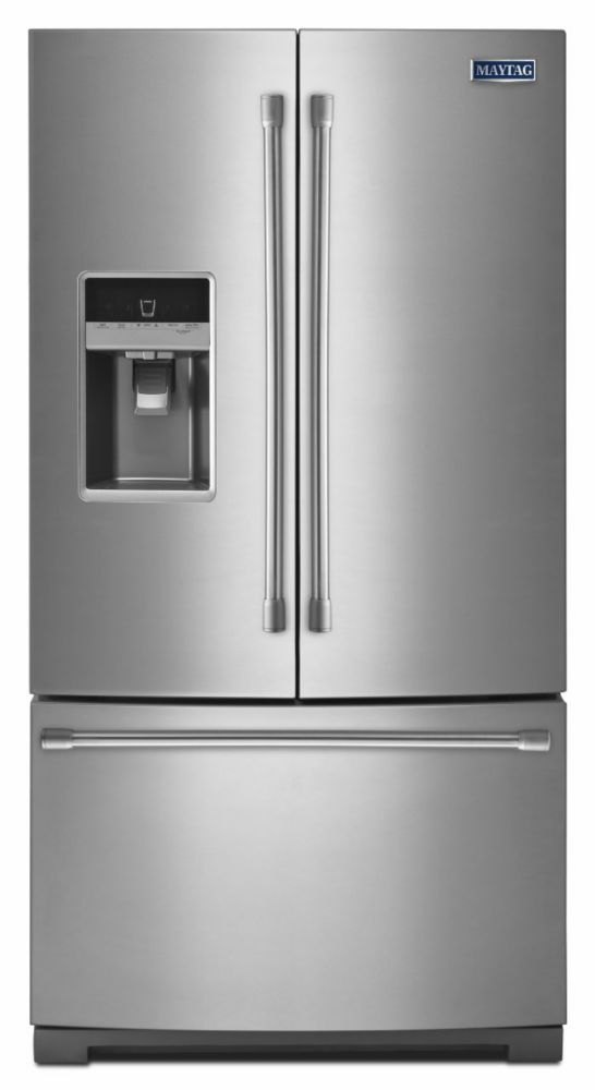 Ice2O� 24.7 cu. ft. French Door Refrigerator with Better Built Compressor in Stainless Steel