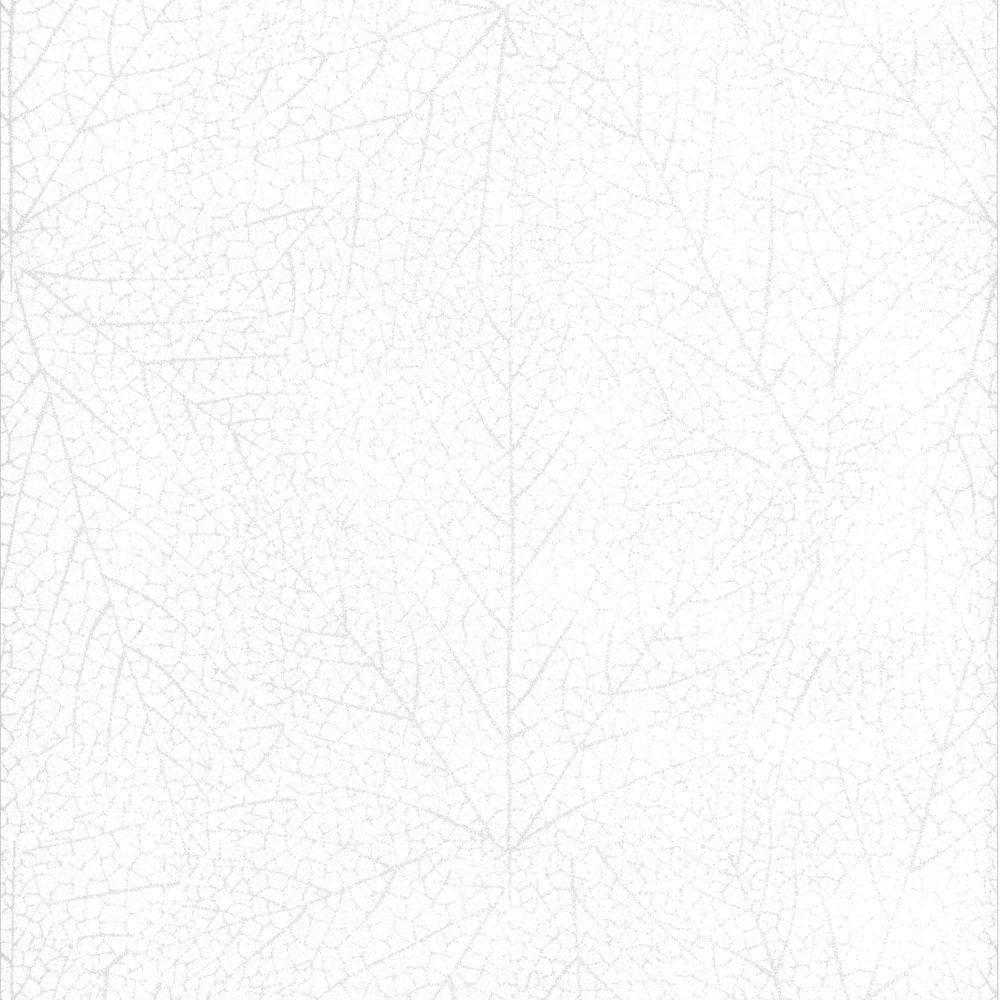 Glade White Mica Wallpaper