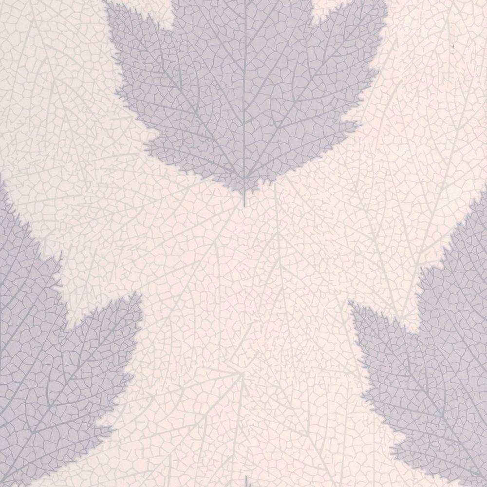 Maple Purple/Lavender Wallpaper
