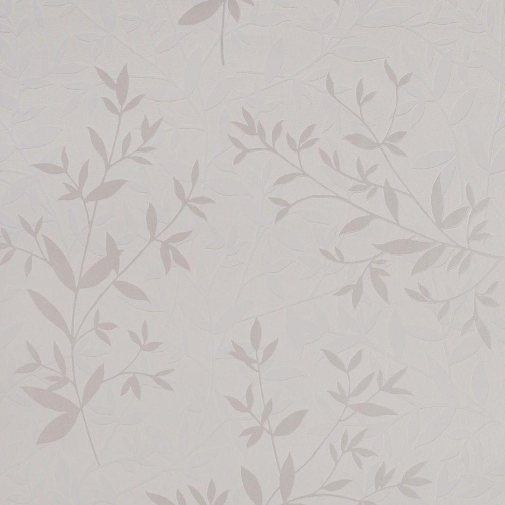 Bijou White Wallpaper