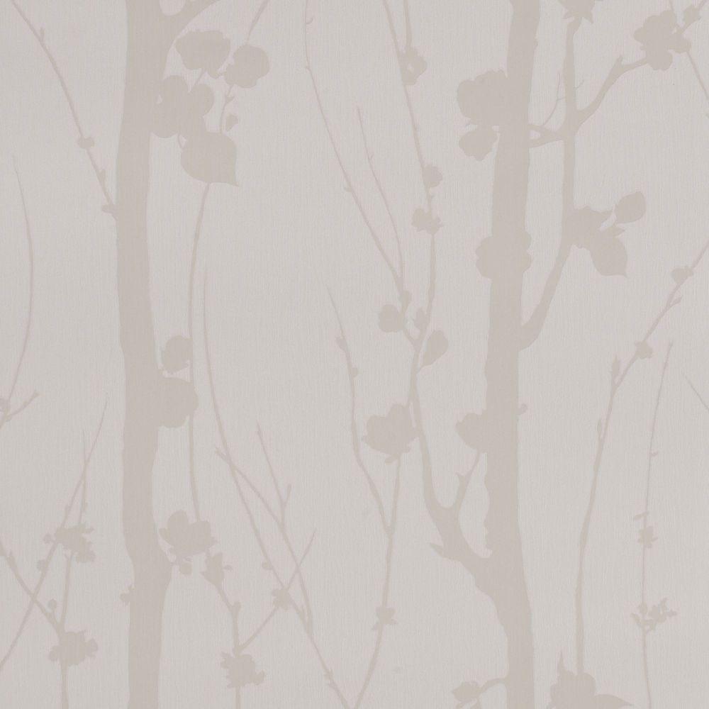Solitude White Mica Wallpaper