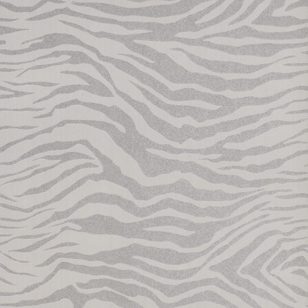 Zebra Gray/Silver Wallpaper 20-124 Canada Discount