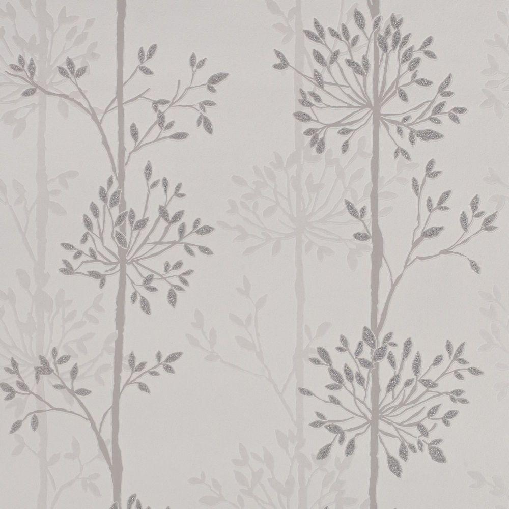 Domaniale Paillette Papier Peint Gris