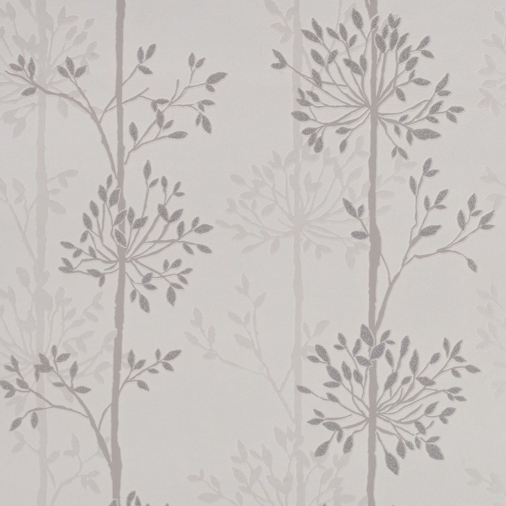Domaniale Paillette Gray/Silver Wallpaper