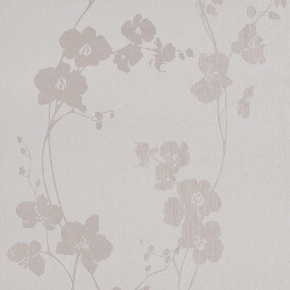 Gloria Cream/Beige Wallpaper
