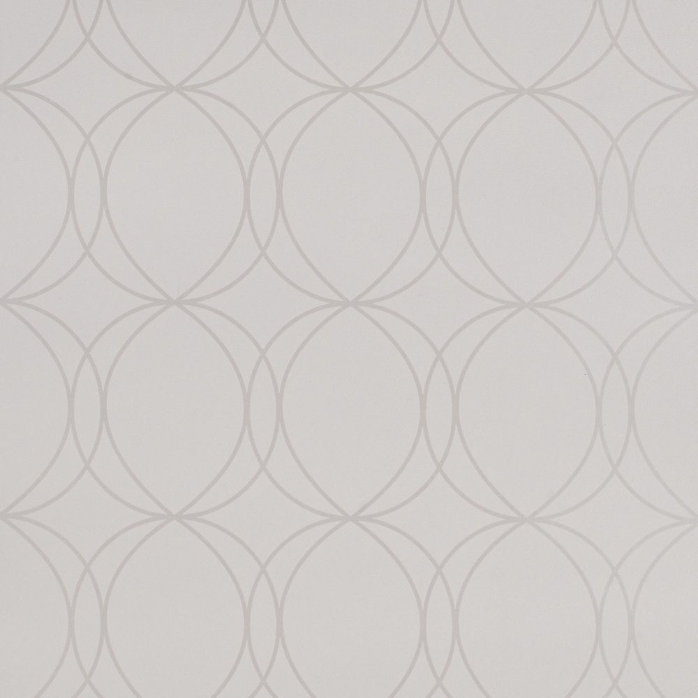Savoy White Wallpaper