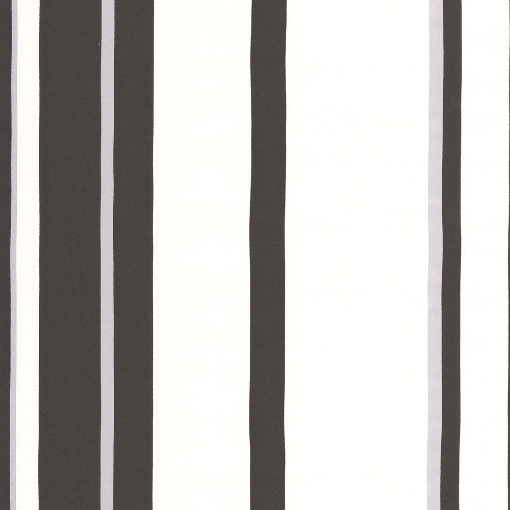 Rayure Hoppen Papier Peint Gris