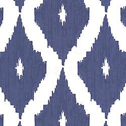 Graham & Brown Ikat Papier Peint Bleu