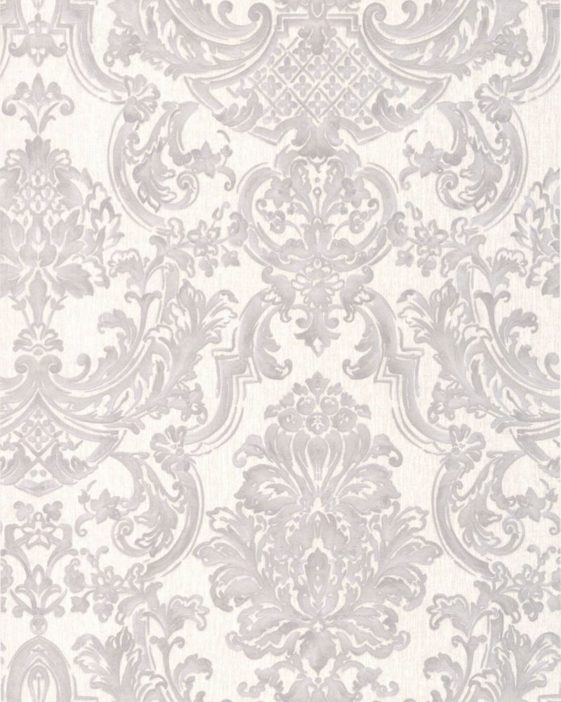 Montague Gray/Silver Wallpaper 32-197 in Canada