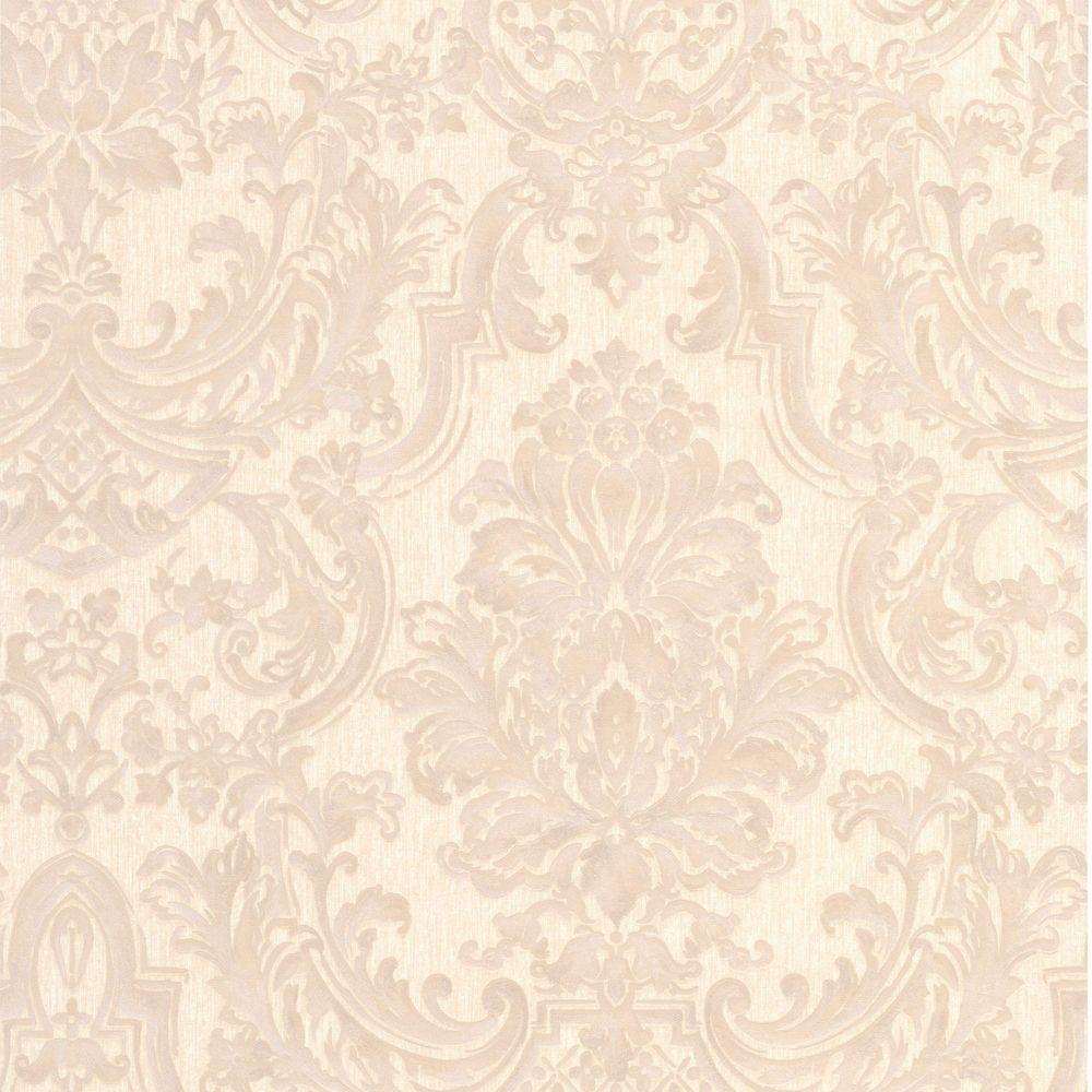 Montague Beige Wallpaper