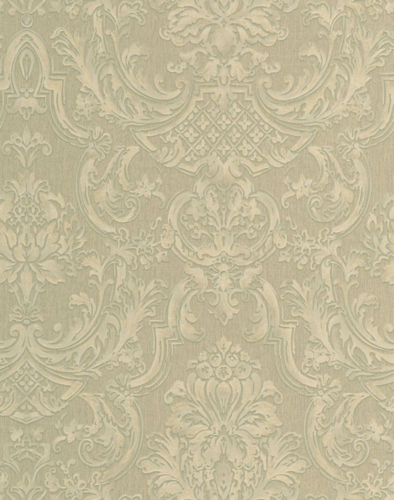 Montague Green Wallpaper 32-199 in Canada