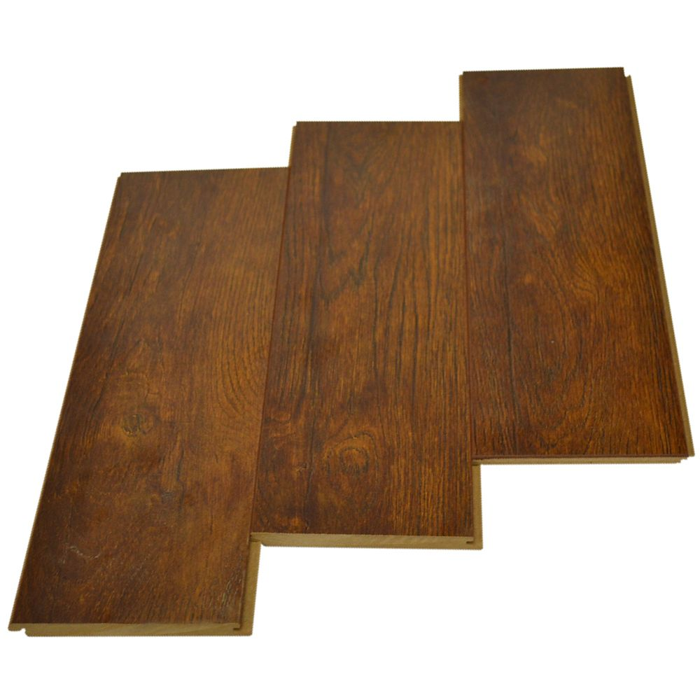 Hazelnut Hickory 12mm with Underpad - (23.29 Sq.Feet/Case)