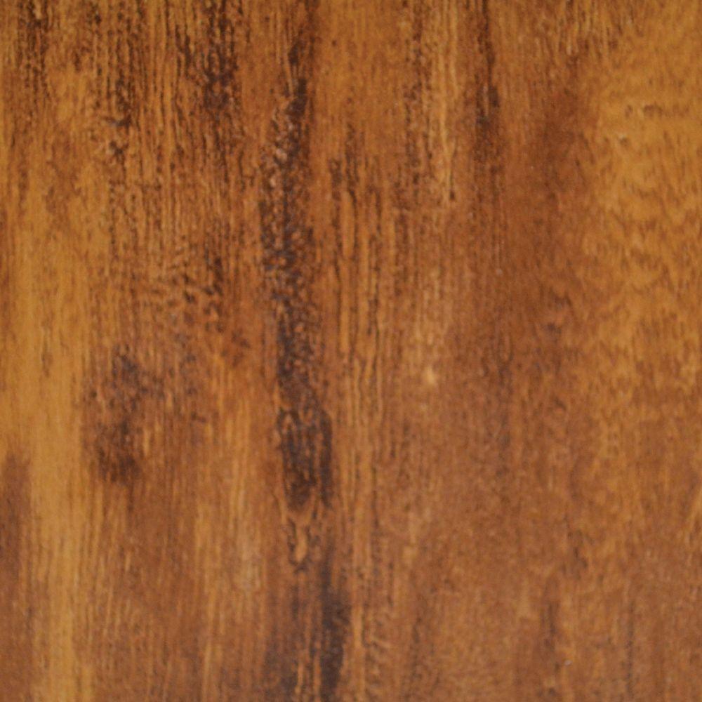 Échantillion 12 MM plancher Stratifié  Hickory Brossé
