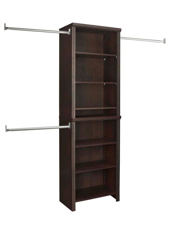 top w system with shelves closetmaid suitesymphony organization closet pdp storage maid
