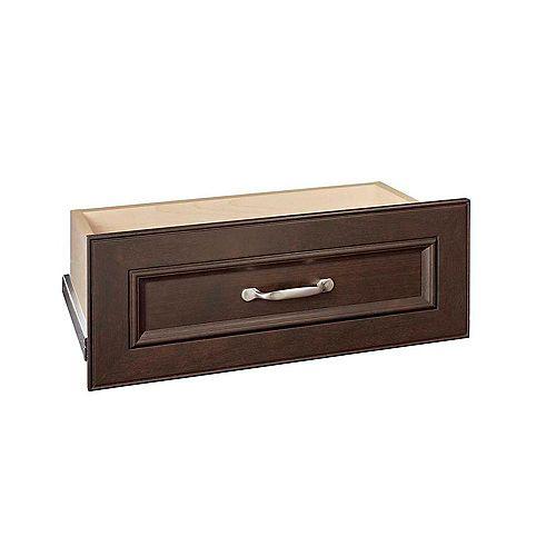 ClosetMaid Impressions 25 -inch Chocolate Standard Drawer Kit