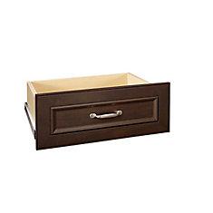 Agencement pour tiroirs de luxe Impressions, 5 po, chocolat