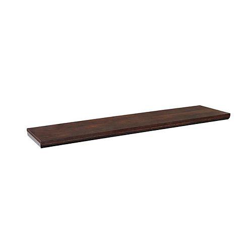 ClosetMaid Impressions 48-inch Top Shelf Kit in Chocolate