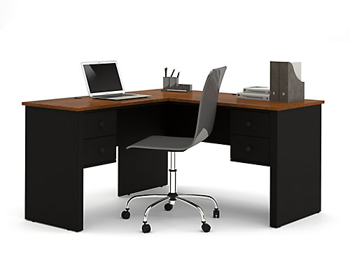 table study workstation shaped desk proinfo home modern tribesigns latop pc office l wood corner metal computer