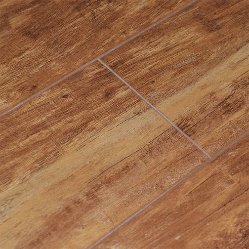 5-inch W Revolution Brushed Hickory Laminate Flooring with Underlay