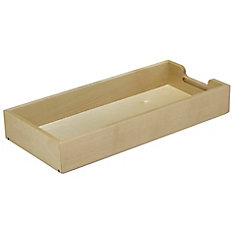 FindIT Wood Full Tray Organizer - 20.8125 Inches x 9.625 Inches x 3.2188 Inches