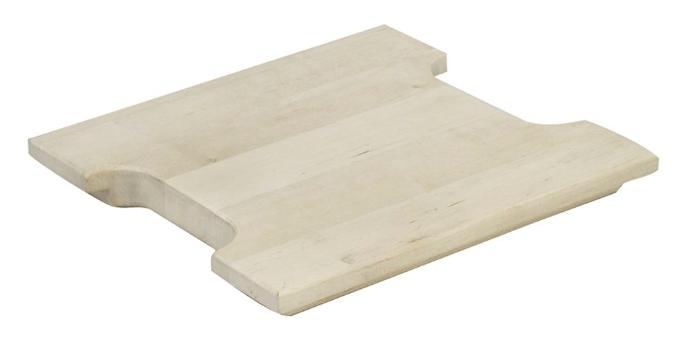 FindIT Wood Half Cutting Board - 10.1875 Inches x 9.625 Inches x 1 Inch