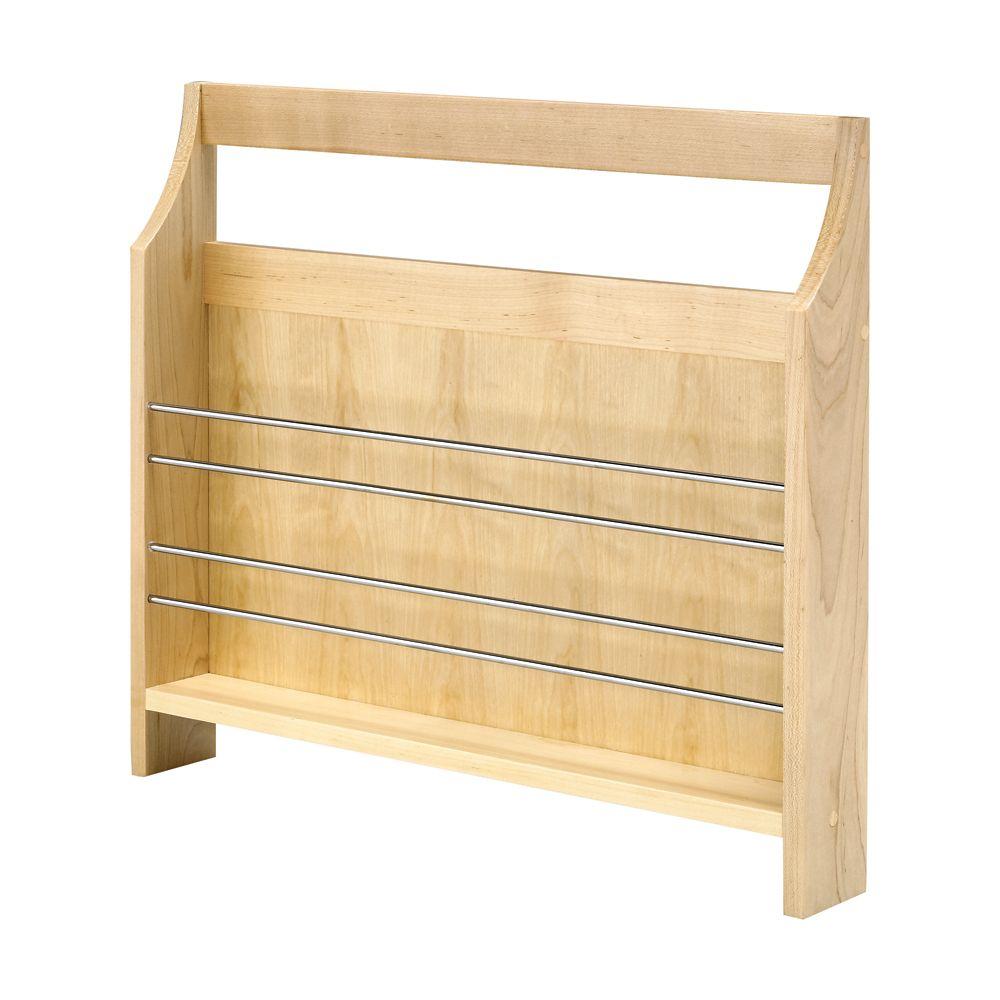 Étagère latérale en bois FindIT - 19,125 po x 3 po x 22,125 po