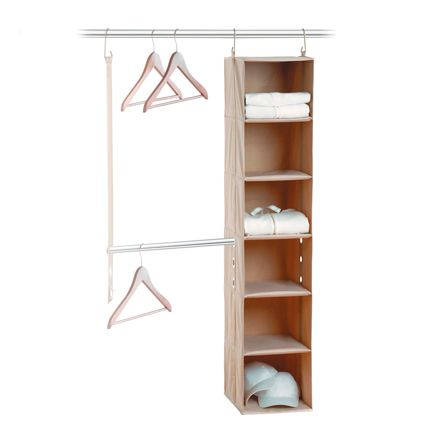 Neatfreak closetMAX System 2pc System with 6 Shelf & Bar A05665004X1ST in Canada