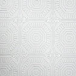 Graham & Brown Médaillon Papier Peint Peinturable Blanc
